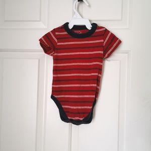 3/$12 The children's place striped onesie